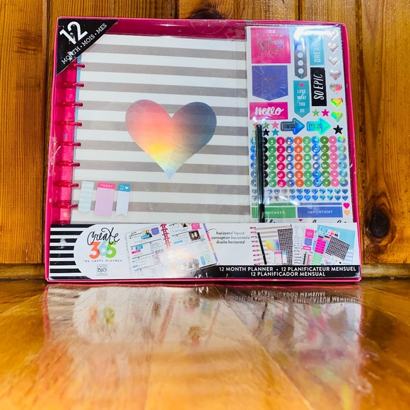 The Happy Planner Other - Happy planner Large Rainbow Planner KIT Undated